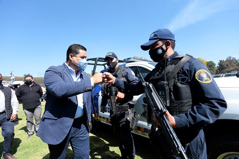 Fuerzas estatales brindarán seguridad a los candidatos en el proceso electoral