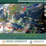 Nublados y probables intervalos de chubascos este sábado en Guanajuato