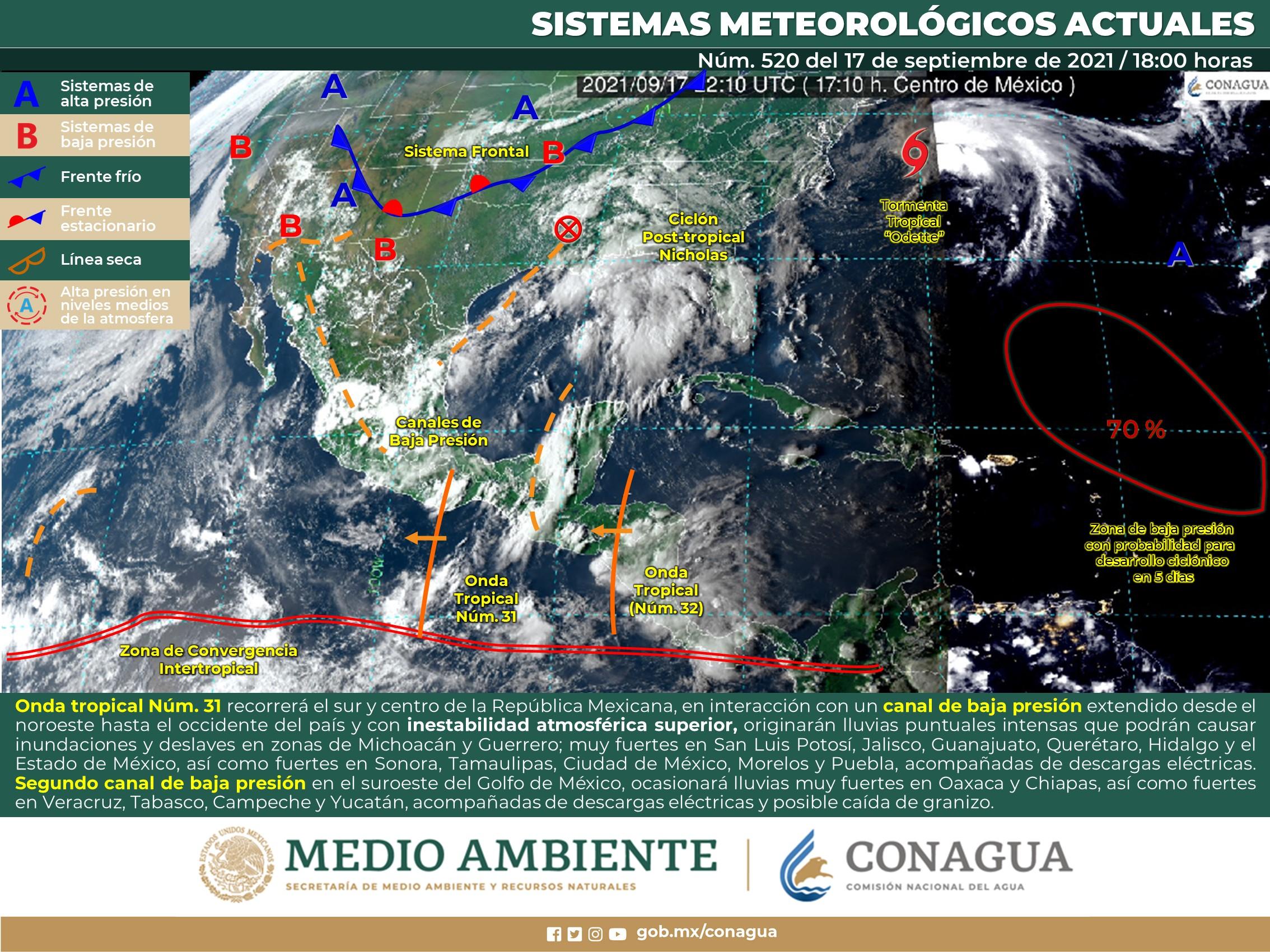Solo algunas partes de Guanajuato tendrán lluvias para este sábado